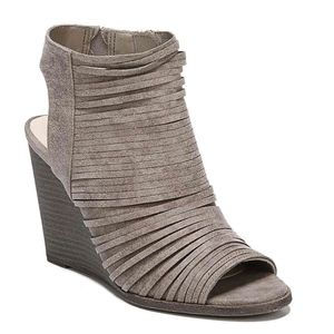 **FLASH SALE** Heather Strappy Booties in Taupe